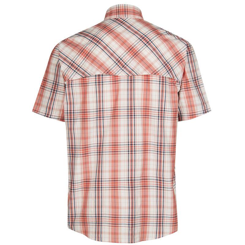 Nepallo Men's Trophy Quick-Dry Plaid Short-Sleeve Shirt image number 13