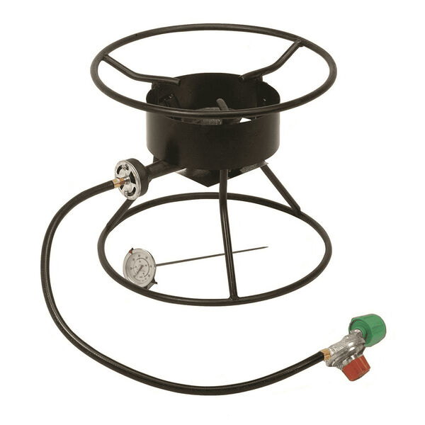 "King Kooker Welded 12"" High Pressure Portable Propane Outdoor Cooker"