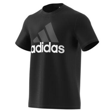Adidas Men's Essential Linear Short-Sleeve Tee