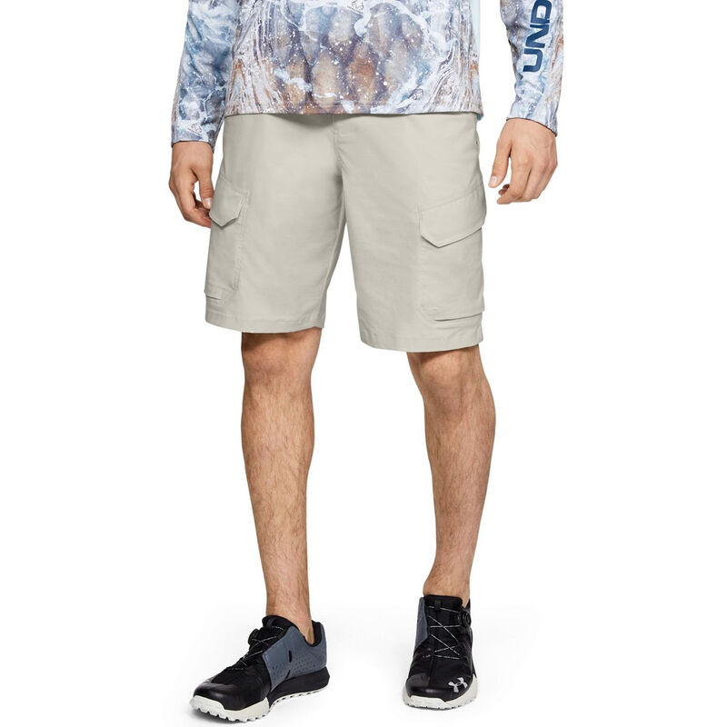 Under Armour Men's Fish Hunter Cargo Shorts image number 6