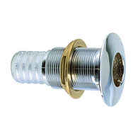 """Perko Thru-Hull Connections - Chrome-Plated Bronze - 3/4"""" x 1-5/8"""""""