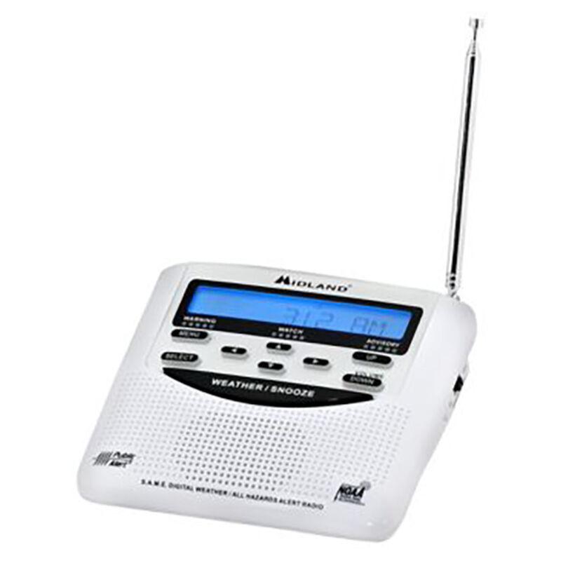 Midland WR120 Weather Alert Radio and Alarm Clock image number 1