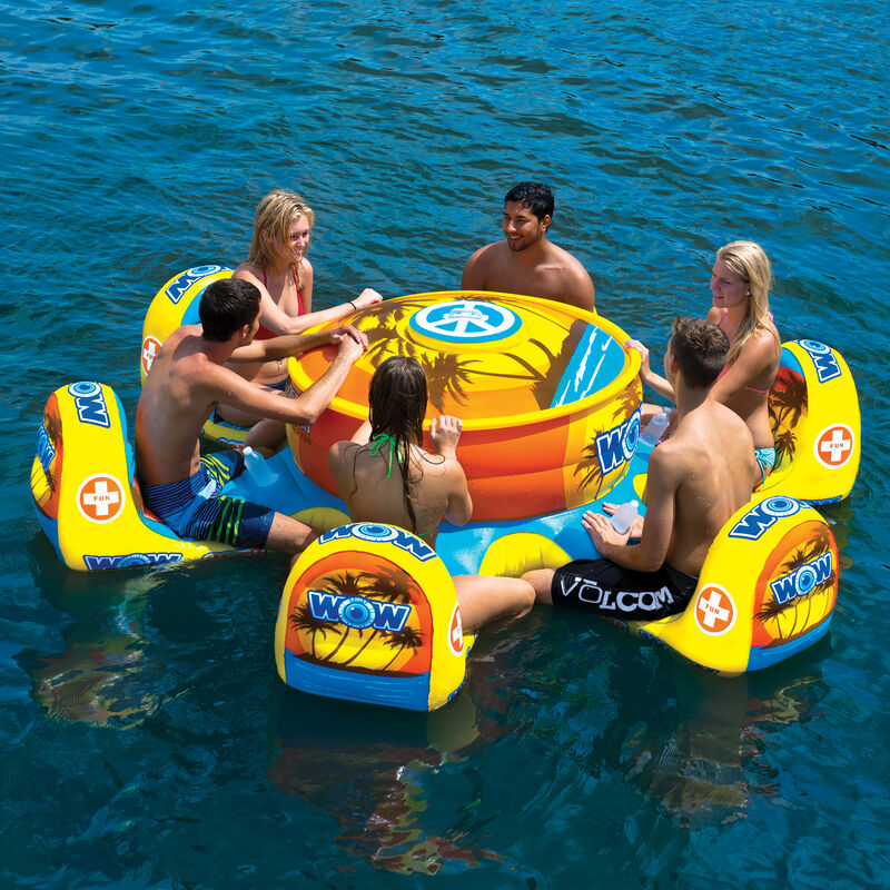 WOW Octo Island 6-Person Floating Table image number 3