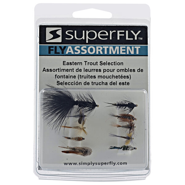 Superfly Fly Fishing Eastern Trout Assortment