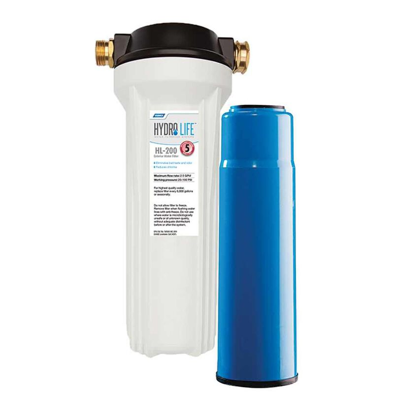 Hydro Life RV/Marine Exterior Water Filter Kit image number 1