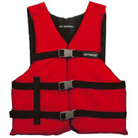 Airhead General Purpose Adult Life Vest - Red - Adult
