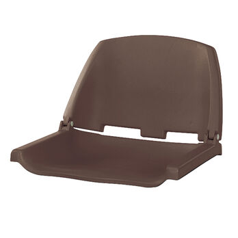 Wise Molded Fold-Down Fishing Seat Only without Padding