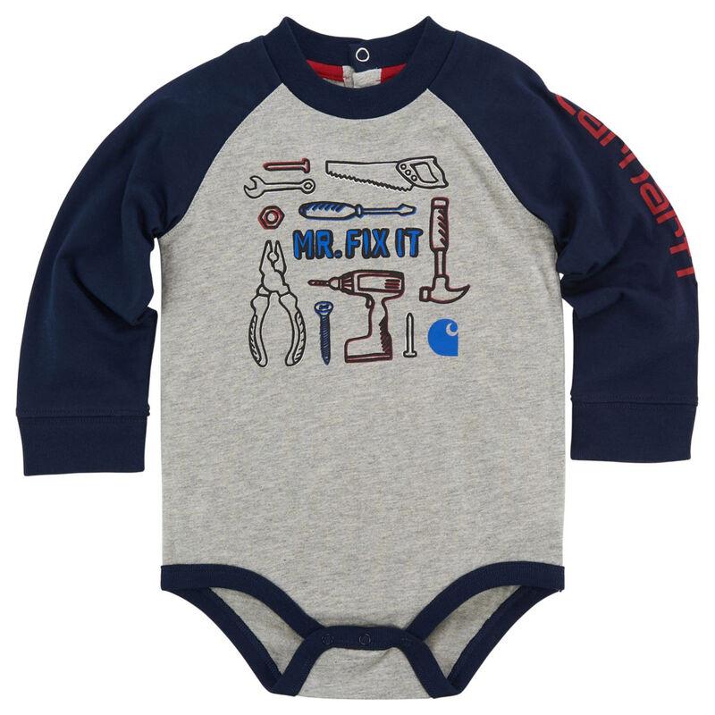 Carhartt Infant Mr. Fix It Bodysuit image number 1