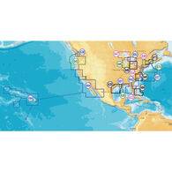 Navionics Platinum+ Map, Central Gulf Of Mexico ½ SD Cartridge