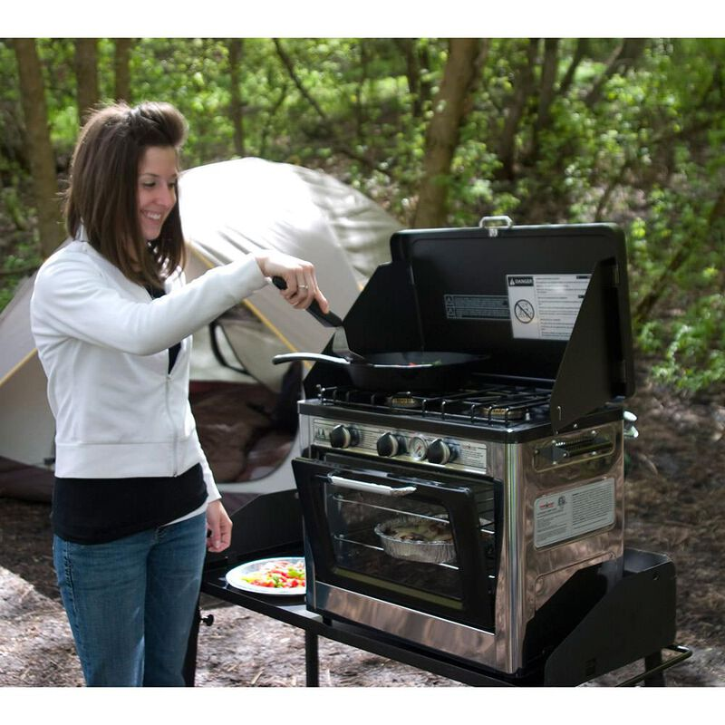 Camp Chef Outdoor Camping Oven and 2-Burner Stove image number 5