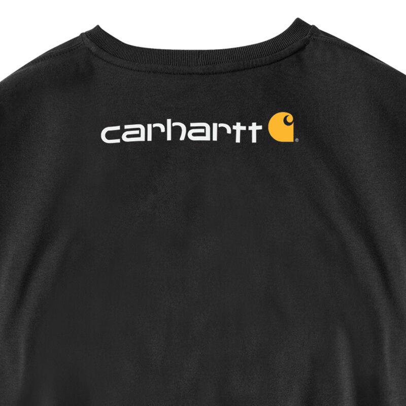 Carhartt Men's Long-Sleeve Logo Tee image number 7