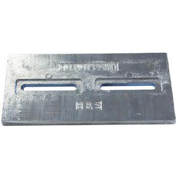 Bossler & Sweezey Zinc Plate With Slots