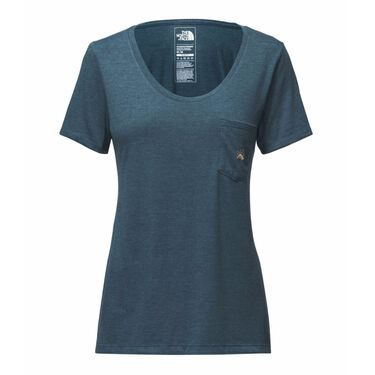 The North Face Women's Tri-Blend Short-Sleeve Pocket Tee