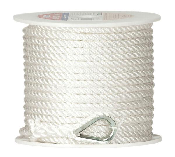 "Twisted Nylon Anchor Line, 1/2"" x 150'"