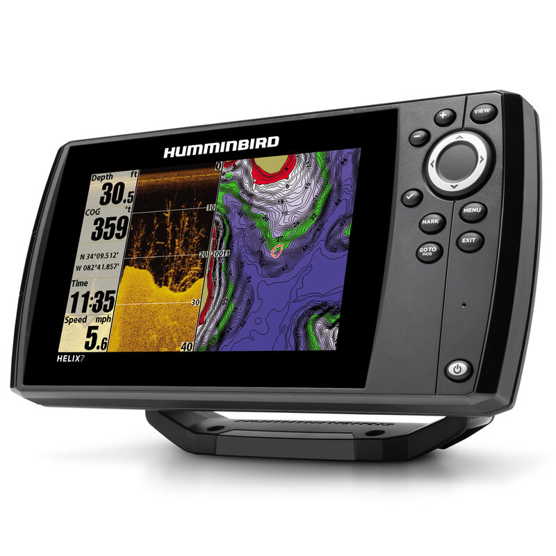 Humminbird Helix 7 DI Fishfinder GPS Combo image number 3