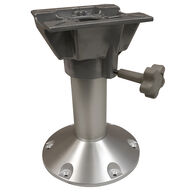 """Seat Pedestal 12"""" Fixed Height with Swivel"""