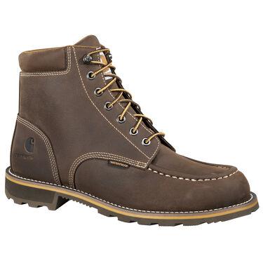 """Carhartt Men's 6"""" Brown Waterproof Work Boot"""