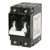 Blue Sea AC Circuit Breaker C-Series Toggle Switch, Double Pole, 30A
