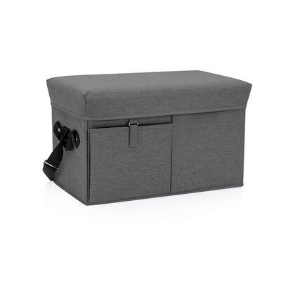 Ottoman Cooler - Gray