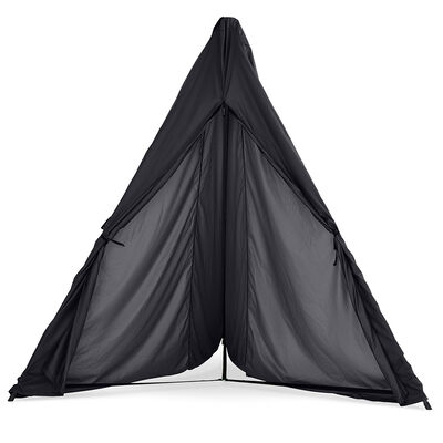 Black Hangout Stand Hammock Weather Cover