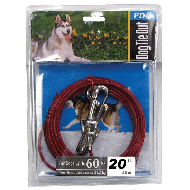20' Dog Tie Out image number 1