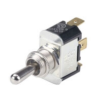 Ancor Toggle Switch, Single-Pole/Double-Throw (On)-Off-On