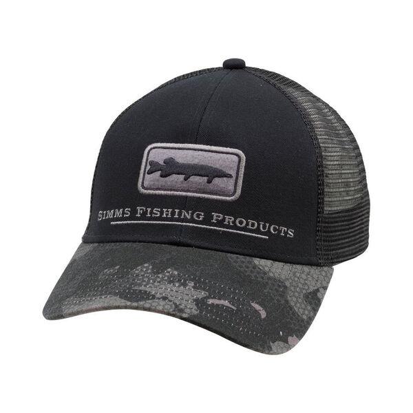 Simms Men's Musky Icon Trucker Cap