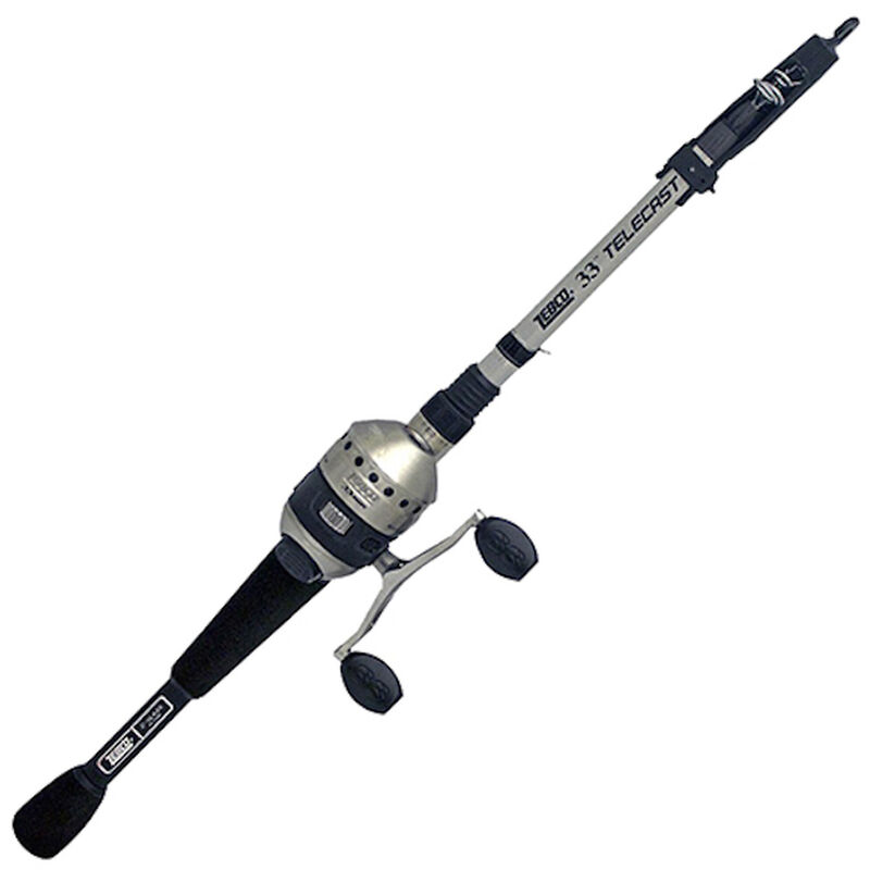 Zebco 5' Micro-Trigger Telecast Rod And Reel Combo image number 1