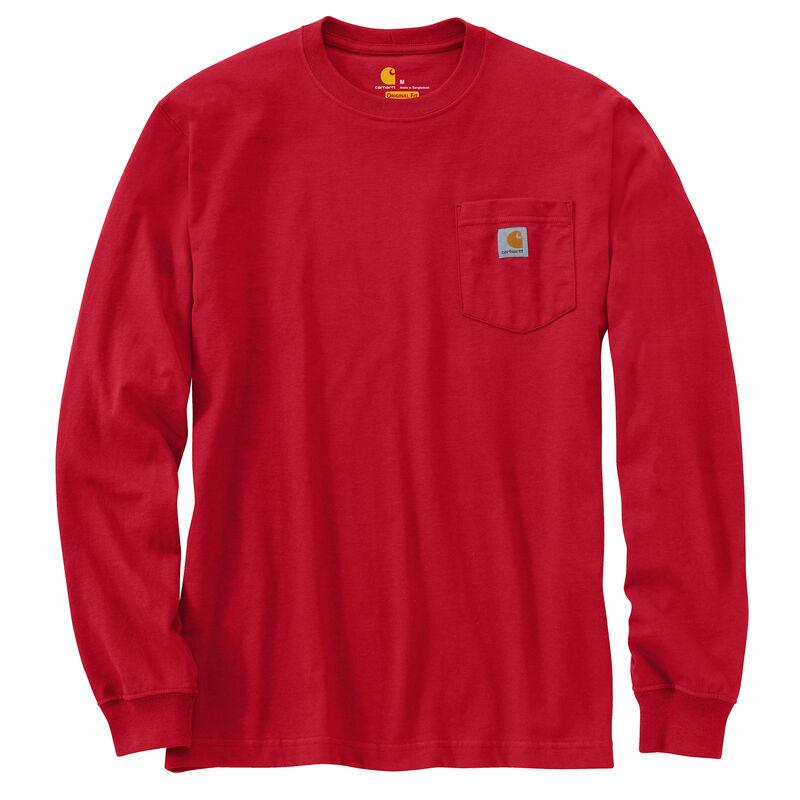 Carhartt Men's Workwear Long-Sleeve Pocket Tee image number 22