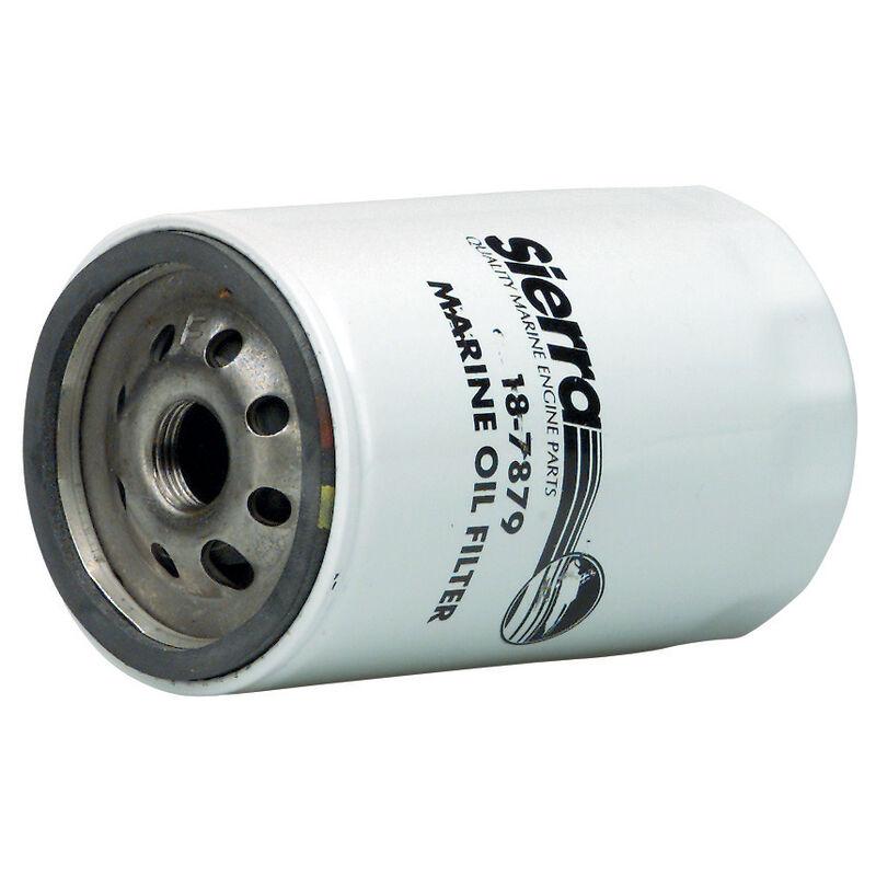 Sierra Marine Oil Filter, 18-7876, Long GM Canister, for most GM (except V-6) image number 1