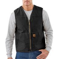 Carhartt Men's Sandstone Sherpa-Lined Rugged Vest