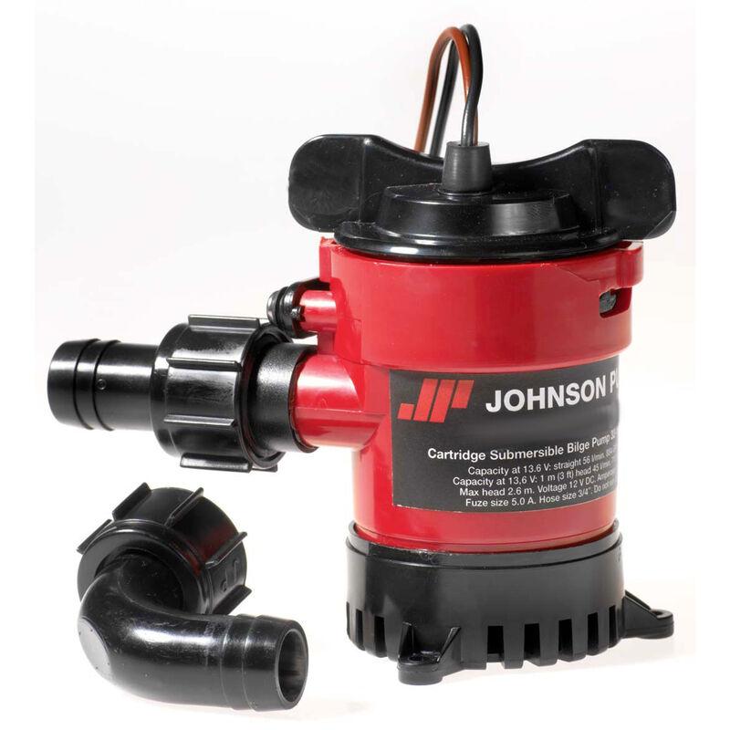 Johnson Cartridge Bilge Pump, 500 GPH image number 1