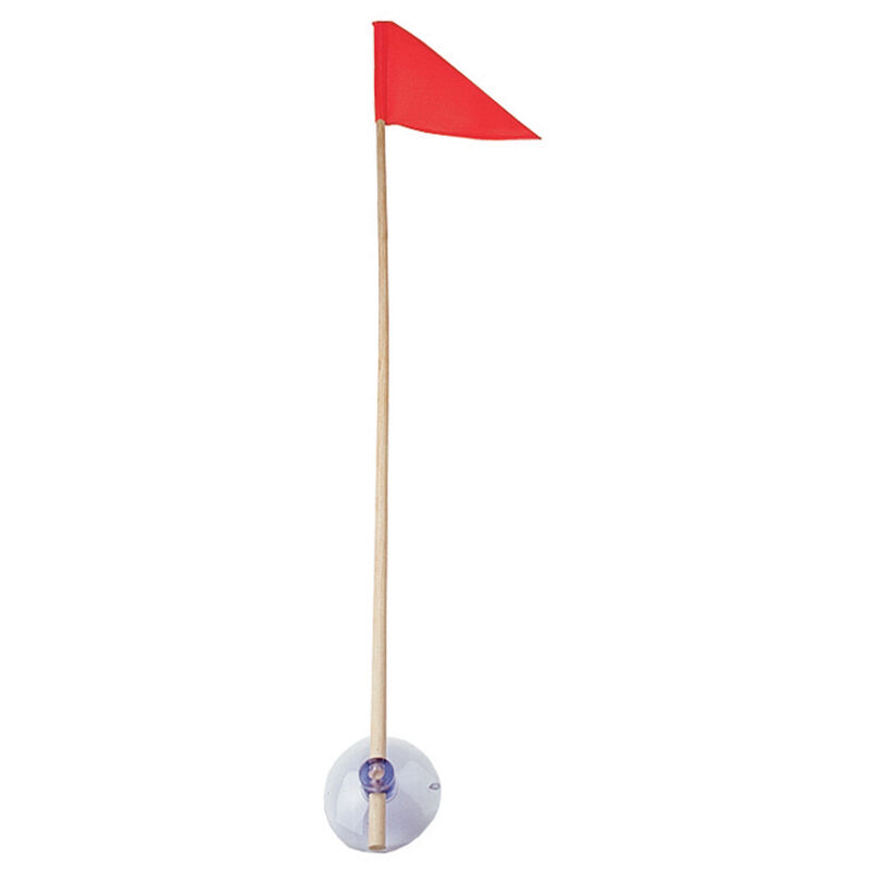 Stik-A-Flag New Jersey Triangular Water Ski Flag image number 1