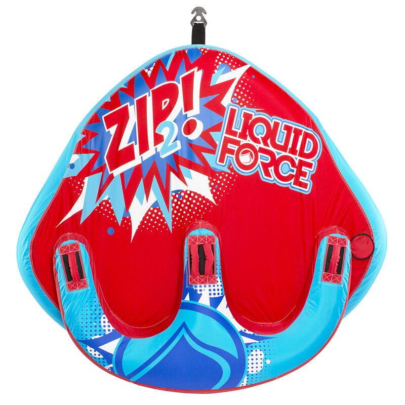 Liquid Force Zip 2-Person Towable Tube image number 2