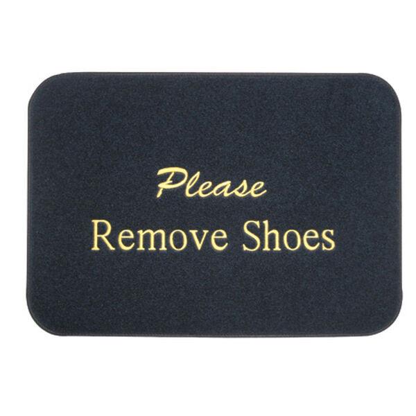 Remove Shoes Boat Mat