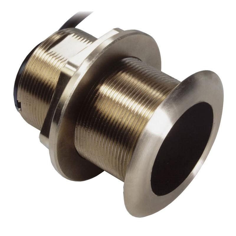 Garmin B60 Bronze 12° Tilted-Element Thru-Hull Transducer image number 1