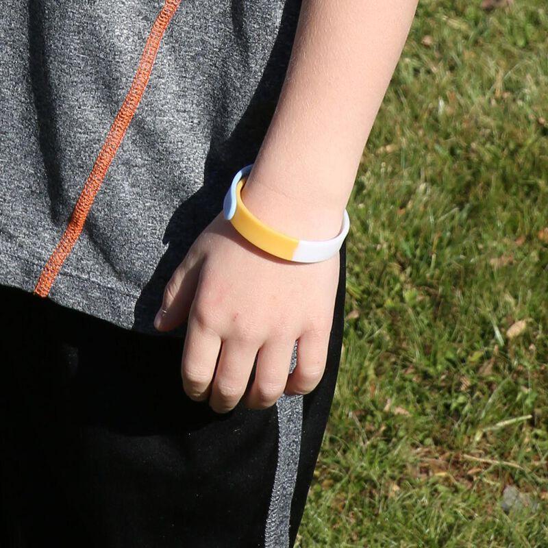 Citronella Plus Mosquito Repellent Wristband image number 1
