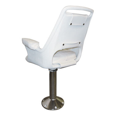 Wise Offshore Extra-Wide Captain's Chair with Pedestal