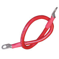"Ancor Premium Red Battery Cable Assembly, 2 AWG Wire, 3/8"" Stud, 48"""
