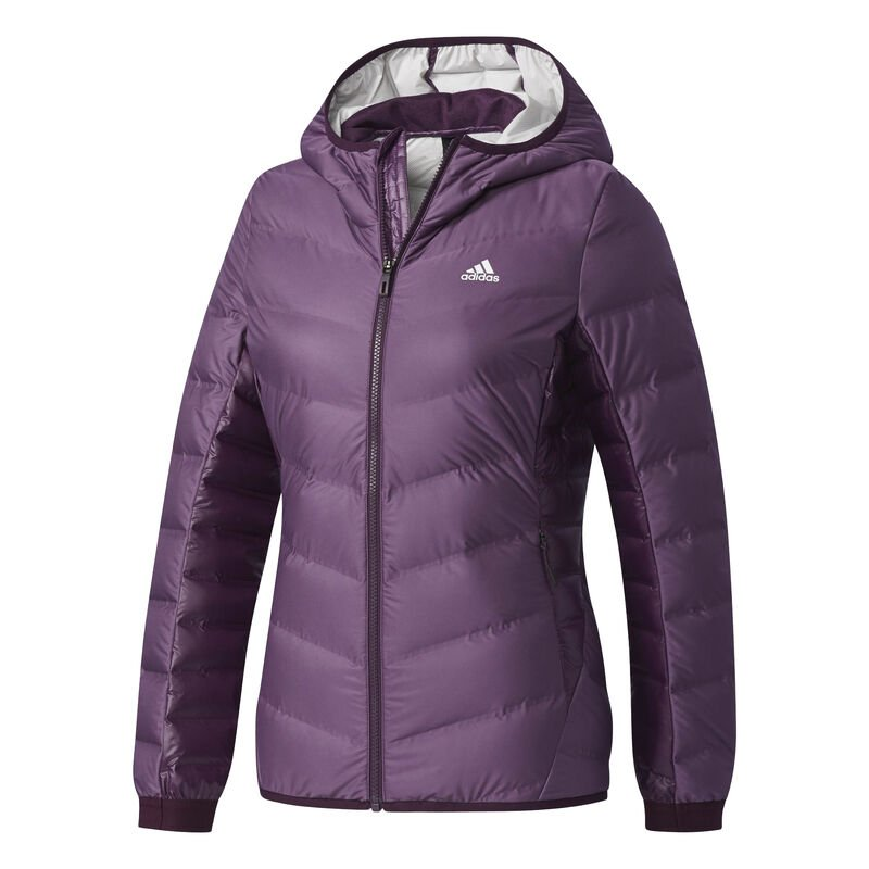 Adidas Women's Nuvic Hooded Down Jacket image number 11