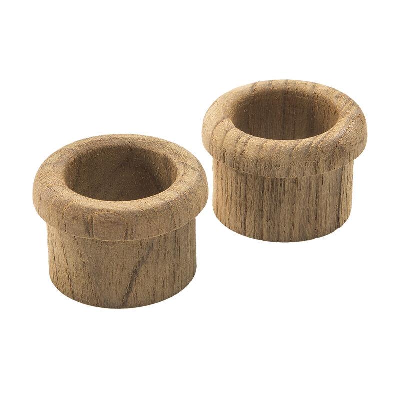 "Whitecap Teak Finger Pulls, 2-pk., 5/8"" Barrel Length image number 4"