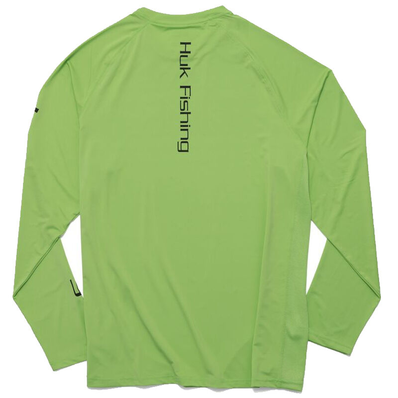 HUK Men's Pursuit Vented Long-Sleeve Tee image number 6