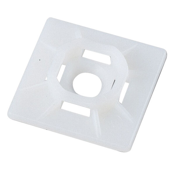 Ancor Cable Tie Mounts, #10 Screw, Natural, 25-Pc.