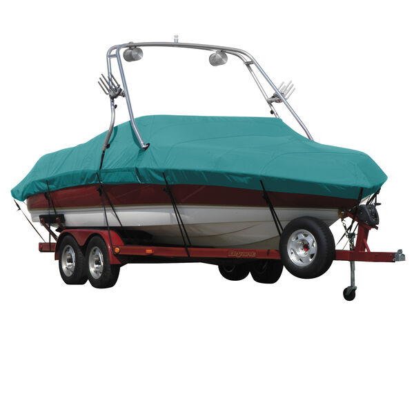 Sunbrella Boat Cover For Sanger V215 W/Proflight Tower Covers Platform