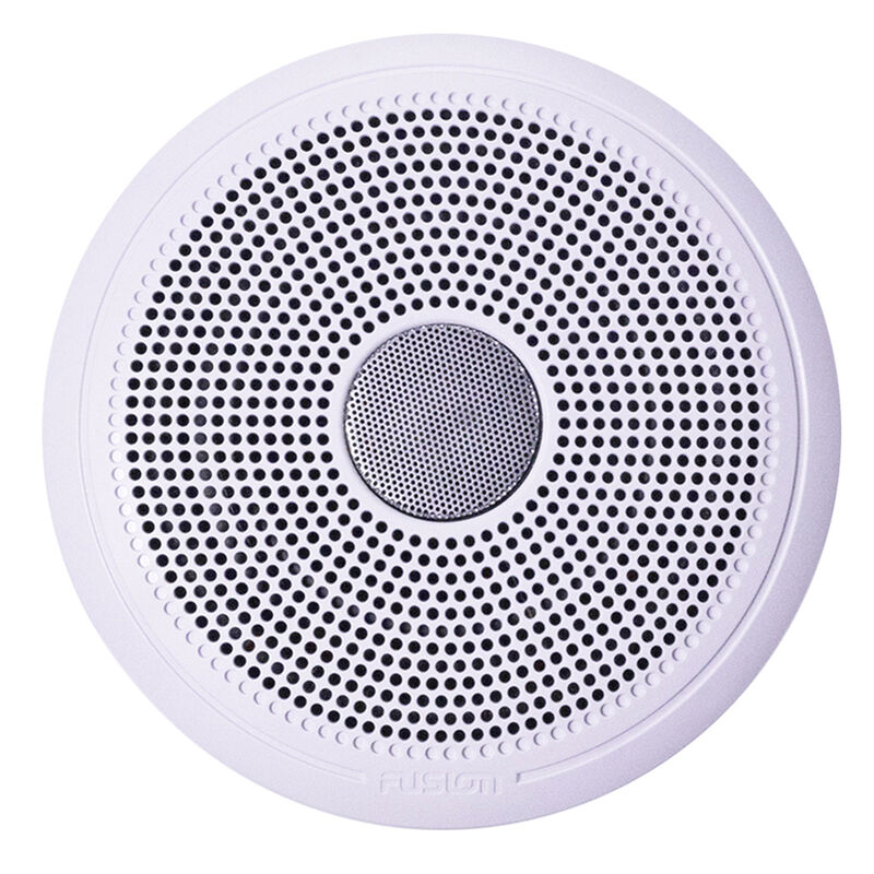"FUSION XS-F77CWB XS Series 7.7"" 240 Watt Classic Marine Speakers - White & Black Grill Options image number 2"