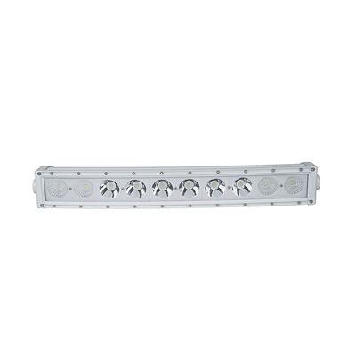 New - 22.5inch Marine Grade Wrap Around White Shell Light Bar with 100-Watt 10  x 10W High Intensity OSRAM LEDs