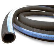 "Shields ShieldsFlex II 3-1/2"" Water/Exhaust Hose With Wire, 10'L"