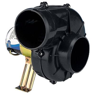 "Jabsco 4"" 250 CFM 12V Heavy-Duty Flexmount Blower"