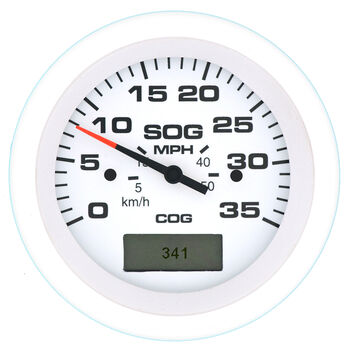 """Sierra Arctic 3"""" GPS Speedometer With LCD Heading Display, 35 MPH"""