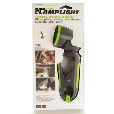 Blackfire Clamplight, 100 Lumen